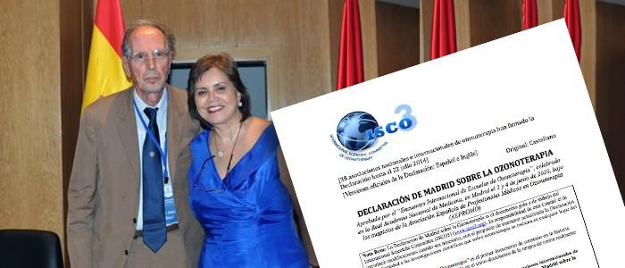 """""""Declaración de Madrid sobre la Ozonoterapia"""""""